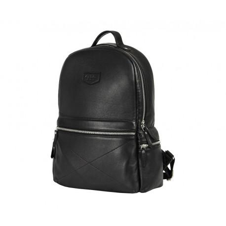 Рюкзак из натуральной кожи Ray Button San Marino Black