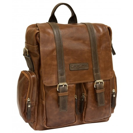 Рюкзак-сумка Carlo Gattini Selvatico 3003-08 коричневый