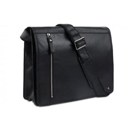 Деловая сумка Visconti Merlin ML23 black