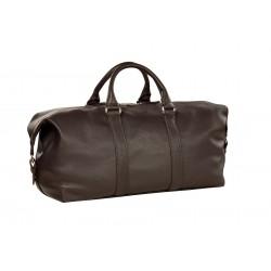 Дорожная сумка из натуральной кожи Hadley Biswood коричневая