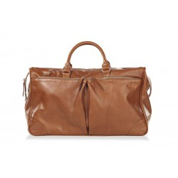 Дорожная сумка из натуральной кожи Hadley Dorn Orange