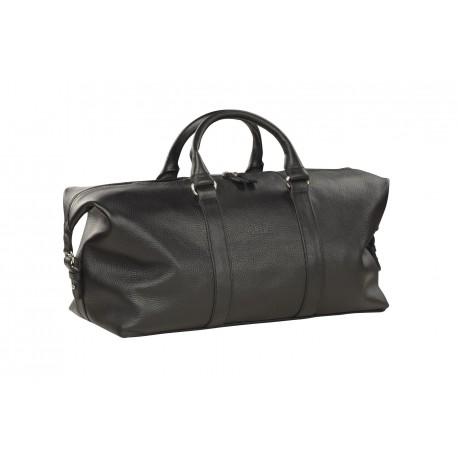 Дорожная сумка из натуральной кожи Hadley Blackwood черная