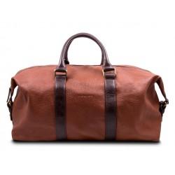 Дорожная сумка из натуральной кожи Hadley Elijahwood коричневая