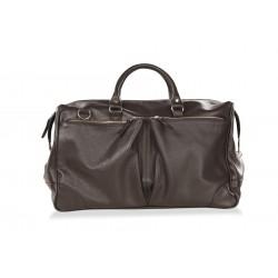Дорожная сумка из натуральной кожи Hadley Dorn Brown коричневая