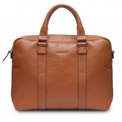 Повседневная сумка из итальянской кожи Hadley Brian Orange