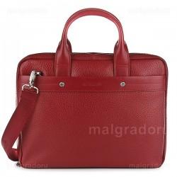 Портфель из натуральной кожи Malgrado BR09-72101C1538 красный