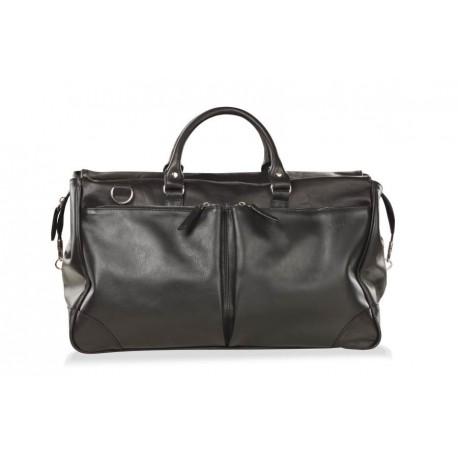 Дорожная сумка из натуральной кожи Hadley Dorn черная