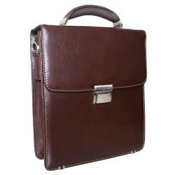 Портфель из натуральной кожи Malgrado BR10-788C2326 коричневый