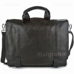 Портфель из натуральной кожи Malgrado BR10-987B5888 черный