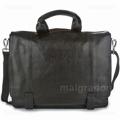Портфель из натуральной кожи Malgrado BR10-987B5888 черная
