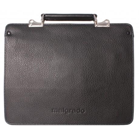 Портфель из натуральной кожи Malgrado BR11-479C2032 черный