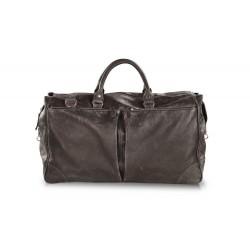 Дорожная сумка из натуральной кожи Hadley Dorn Gray
