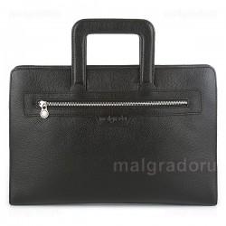Папка из натуральной кожи Malgrado BR11-917A2669 черная