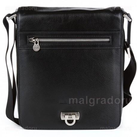 Планшет из натуральной кожи Malgrado BR38-04B4743 черный