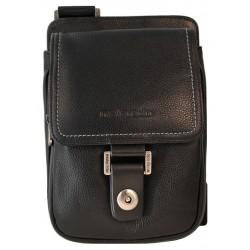 Портфель из натуральной кожи Malgrado BR11-588C1836 черный