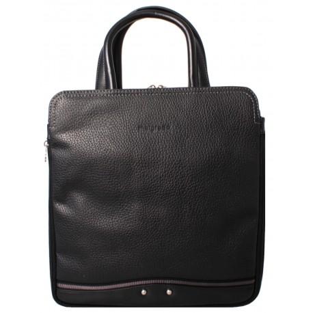 Портфель из натуральной кожи Malgrado BR11-703C2188 черный