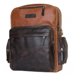 Рюкзак Carlo Gattini Classico 3001-03 коньяк/темно-коричневый