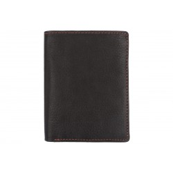 Кошелёк Ashwood leather 1233D Black