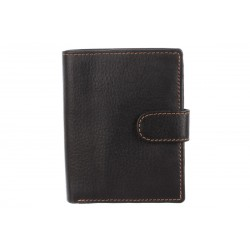 Кошелёк Ashwood leather 1246D Black