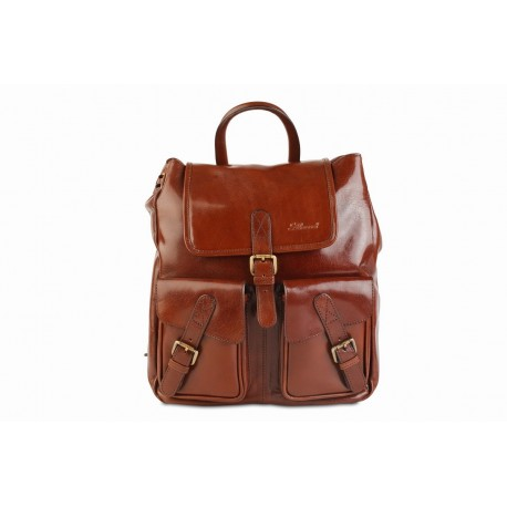 Рюкзак Ashwood leather Rucksack Chestnut Brown