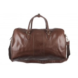 Дорожная сумка Ashwood leather из натуральной кожи Charles Chestnut Brown