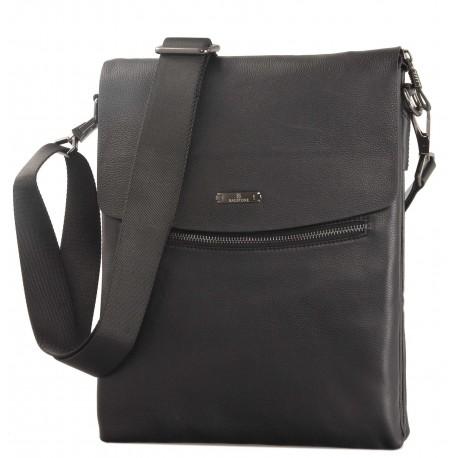 Кожаная мужская сумка Bagstone 88601-25 черная