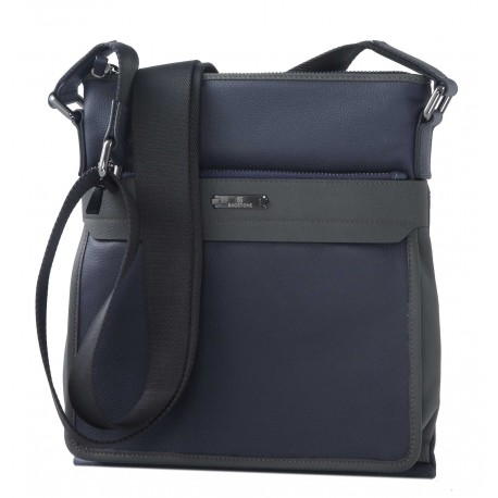 Кожаная мужская сумка Bagstone 88601-16 синяя