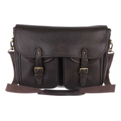 Сумка Ashwood leather Edward Dark Brown