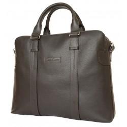 Кожаная сумка для ноутбука Carlo Gattini Tirso 1003-04 коричневая