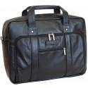 Кожаная сумка для ноутбука Carlo Gattini Ruffo 1005-01 черная