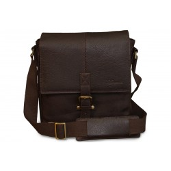 Сумка Ashwood Leather Murphy Dark Brown