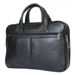 Кожаная сумка для ноутбука Carlo Gattini Montesano 1006-01 черная