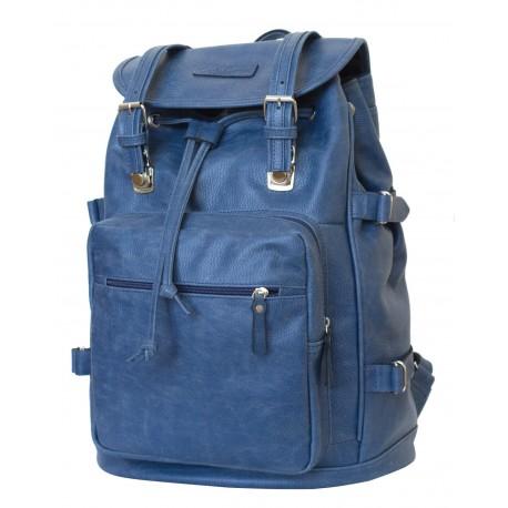 Кожаный рюкзак Carlo Gattini Volturno 3004-10 синий