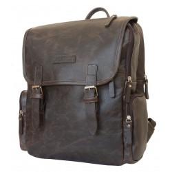 Кожаный рюкзак Carlo Gattini Santerno 3007-04 коричневый