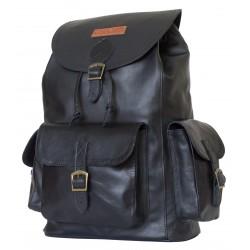 Кожаный рюкзак Carlo Gattini Verres 3016-01 черный
