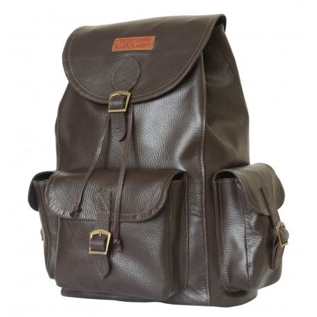 Кожаный рюкзак Carlo Gattini Verres 3016-04 коричневый