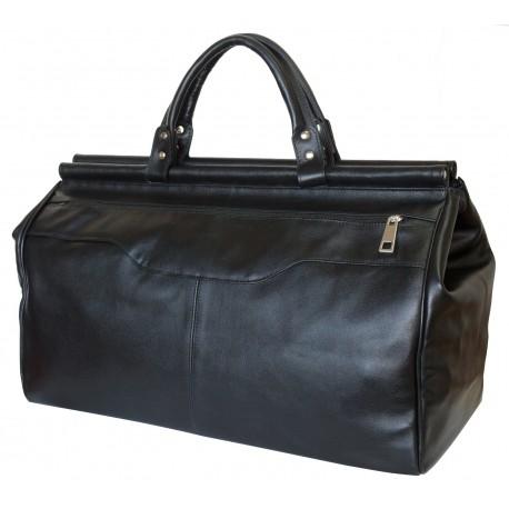 Кожаный саквояж Carlo Gattini Otranto 4006-01 черный