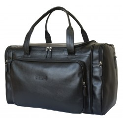 Кожаная дорожная сумка Carlo Gattini Sangallo 4009-01 черная