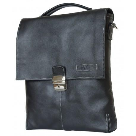 Мужской планшет из натуральной кожи Carlo Gattini Cavazzo 5004-01 черный