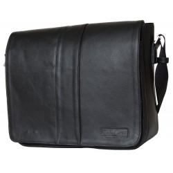 Кожаная сумка через плечо Carlo Gattini Vindsborn 5007-01 черная