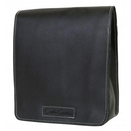 Кожаная мужская сумка Carlo Gattini Oreto 5008-01 черная