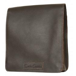 Кожаная мужская сумка Carlo Gattini Oreto 5008-04 коричневая
