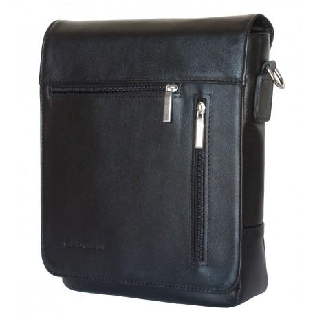 Кожаная мужская сумка Carlo Gattini Oscano 5009-01 черная