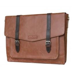 Кожаная мужская сумка Carlo Gattini Salento 5010-03 коричневая