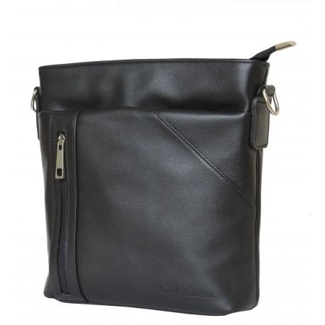 Кожаная мужская сумка Carlo Gattini Lonato 5011-01 черная