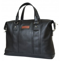 Кожаная мужская сумка Carlo Gattini Rettori 5012-01 черная