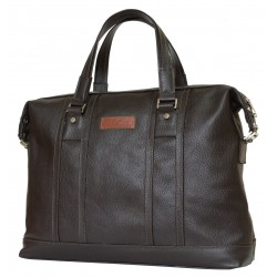 Кожаная мужская сумка Carlo Gattini Rettori 5012-04 коричневая