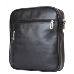 Кожаная мужская сумка Carlo Gattini Varano 5013-01 черная