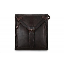 Сумка Ashwood leather Plato Brown