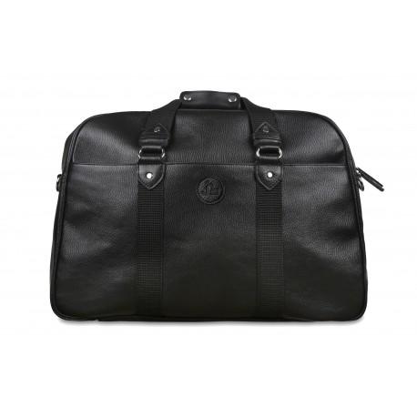 Дорожная сумка из натуральной кожи Jack's Square Douglas Black черная